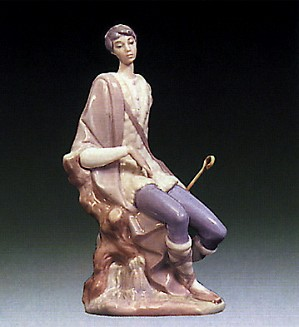 Lladro-New Shepherd 1969-83