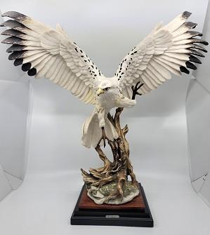 Giuseppe Armani-White Hawk Signed By Giuseppe Armani