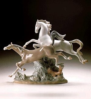 Lladro-Horse Group 1969-2000