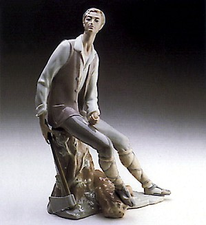 Lladro-Woodcutter 1969-78