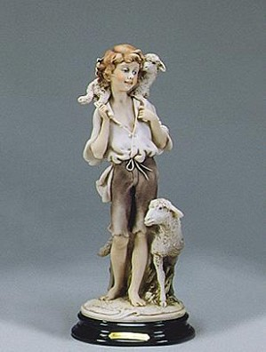Giuseppe Armani-Boy With Sheep  Ret 02