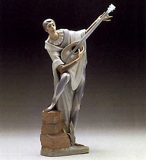 Lladro-Troubadour in Love 1970-75