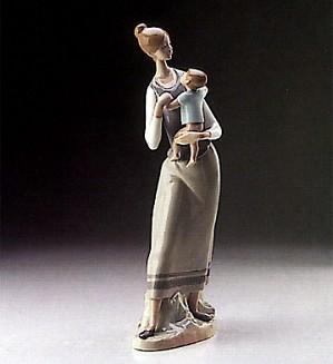 Lladro-Mother And Child 1970-97