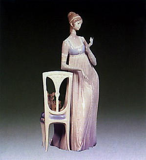 Lladro-Lady Empire 1970-79