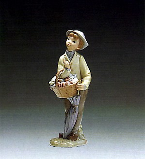 Lladro-Little Gardener 1970-78