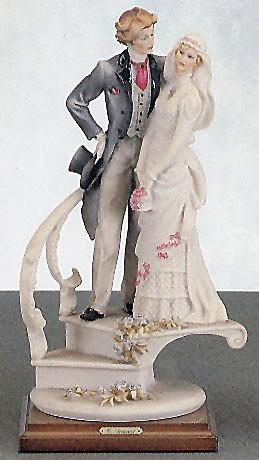 Giuseppe Armani-Bride And Groom On Stairs