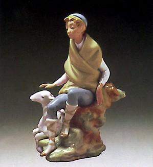 Lladro-Little Shepherd 1972-82