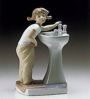 Lladro-Clean Up Time 1973-93