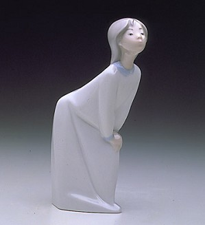 Lladro-Girl Kissing 1974-97