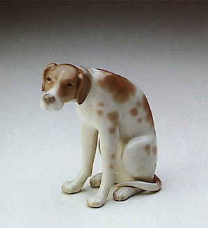 Lladro-Moping Dog 1974-79