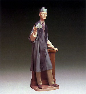 Lladro-The Barrister 1974-85