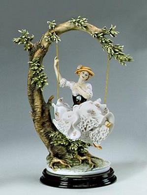 Giuseppe Armani-Young Lady On Swing (2006 Retirement)