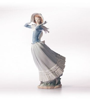 Lladro-Spring Breeze