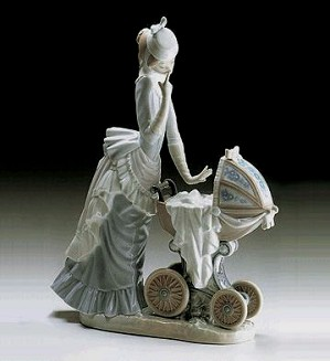 Lladro-Baby's Outing 1976-00