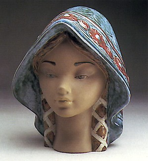 Lladro-Girl's Head 1976-85
