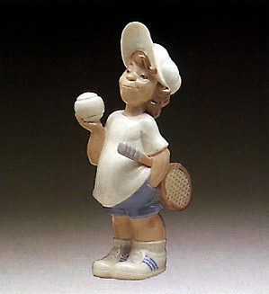 Lladro-Tennis Player Puppet 1977-85