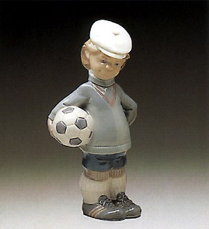 Lladro-Soccer Player Puppet 1977-85