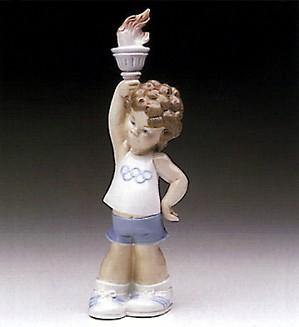 Lladro-Olympic Puppet 1977-83