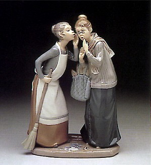 Lladro-The Gossips 1978-85