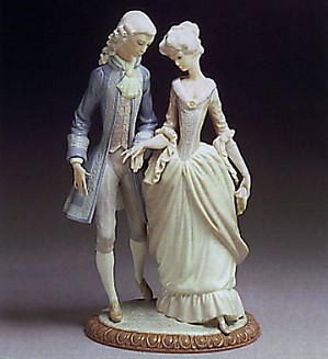 Lladro-Walk in Versailles 1978-81