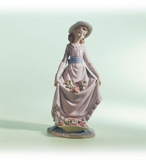 Lladro-Flower Curtsey 1979-04