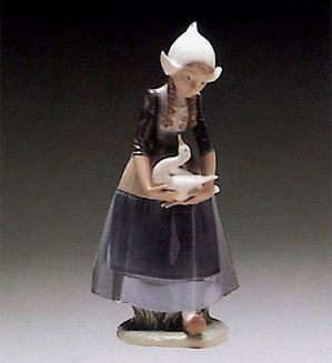 Lladro-Ilsa Dutch Girl 1980-85