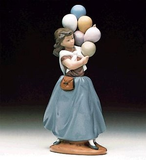 Lladro-Balloon Seller 1982-96