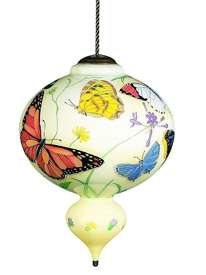 Neqwa-Butterflies Neqwa Ornament Artist Signed