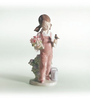 Retired Lladro-Spring