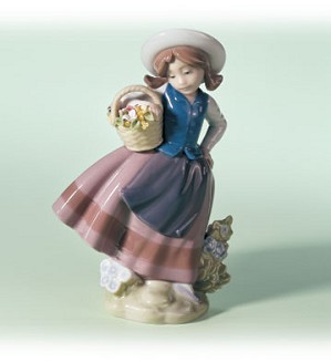 Retired Lladro-Sweet Scent