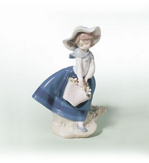 Retired Lladro-Pretty Pickings
