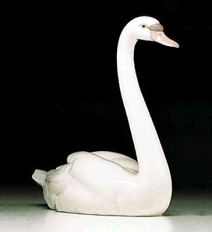 Lladro-Graceful Swan 1984-2000