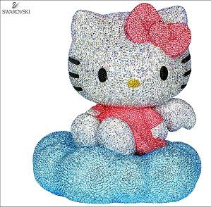 Swarovski Crystal-Myriad Hello Kitty
