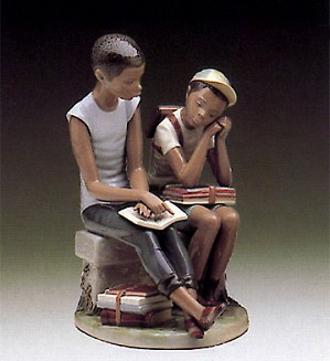 Lladro-School Chums (no Cap) 1984-96