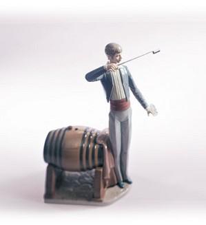 Lladro-Wine Taster 1984-2002