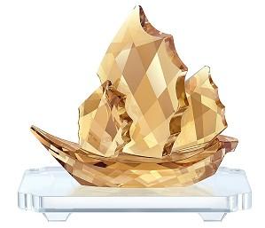 Swarovski Crystal-Sailing Junk