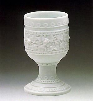 Lladro-Decorated Chalice 1984-89