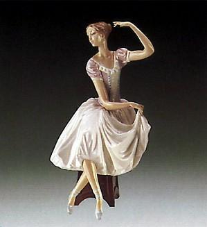 Lladro-Weary Ballerina 1985-95