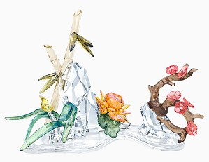 Swarovski Crystal-Four Noble Plants
