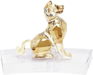 Swarovski Crystal-Chinese Zodiac - Dog GOLD