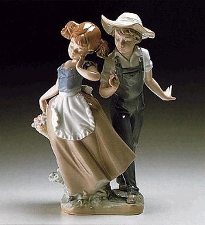 Lladro-Love In Bloom 1985-98