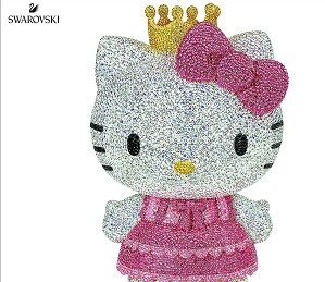 Swarovski Crystal-Myriad Hello Kitty Princess