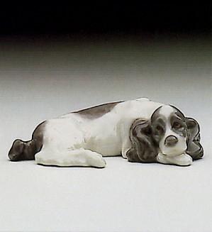 Lladro-Miniature Puppy Cocker Spaniel 1985-93