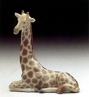 Lladro-Mini Giraffe 1985-90