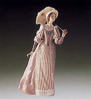 Lladro-English Lady 1985-94