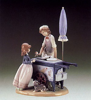 Lladro-Ice cream Vendor 1985-95