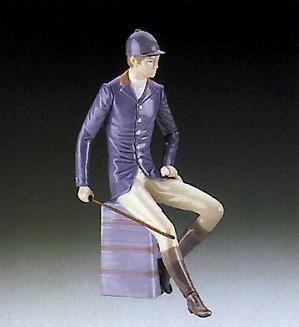 Lladro-Gentleman Equestrian 1985-87