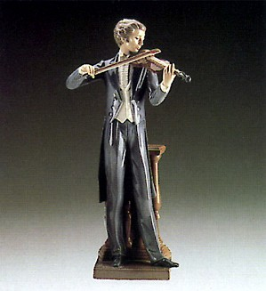 Lladro-Concert Violinist