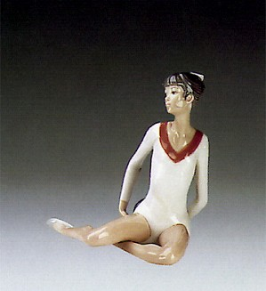 Lladro-Gymnast Exercise With Ball 1985-88