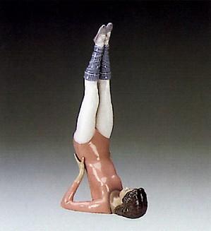 Lladro-Gymnast Push Ups 1985-88